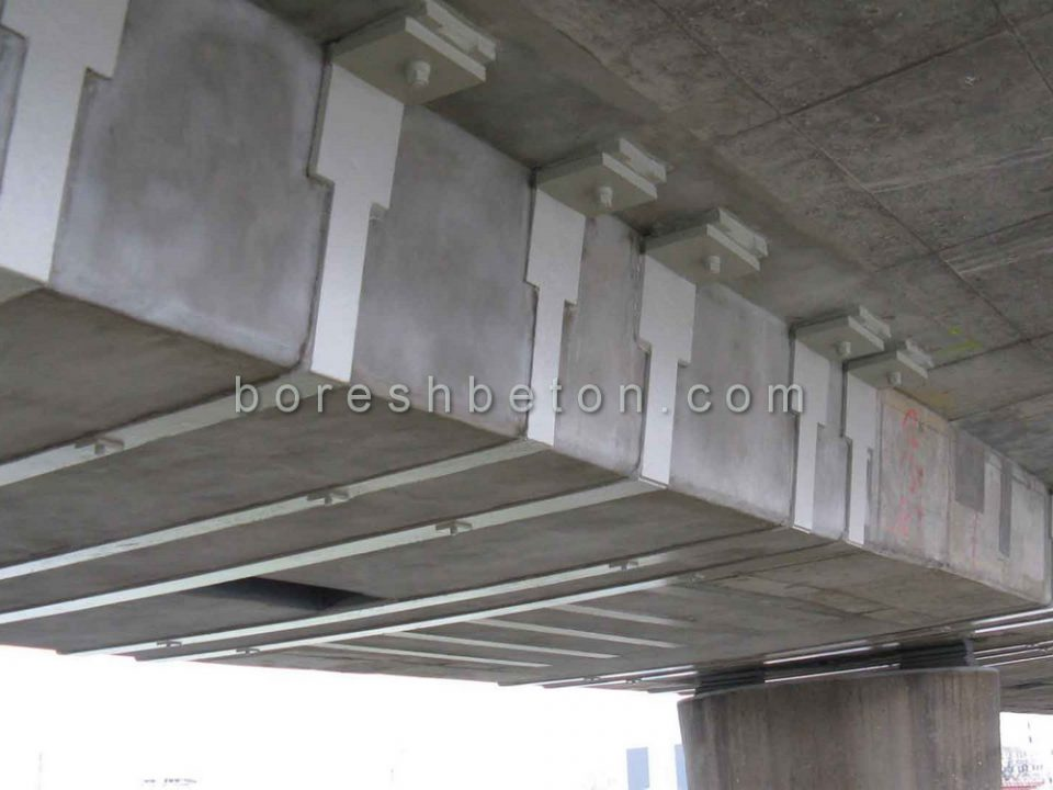 تقویت سازه بتنی در تهران