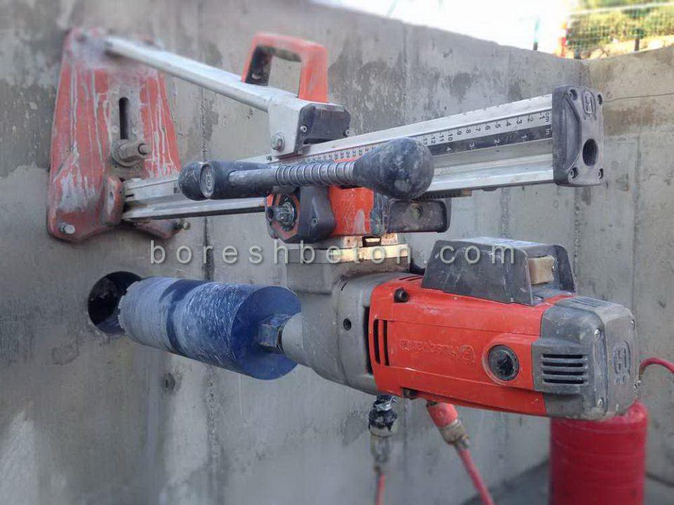 کرگیری بتن سقف